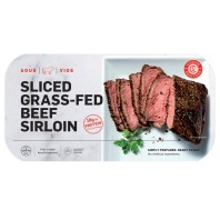 Cuisine Solutions Grass Fed Sliced Sirloin